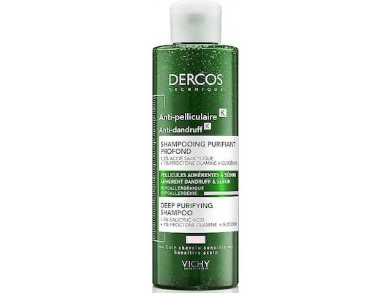 Vichy Dercos Anti-Dandruff Deep Purifying Shampoo 250ml