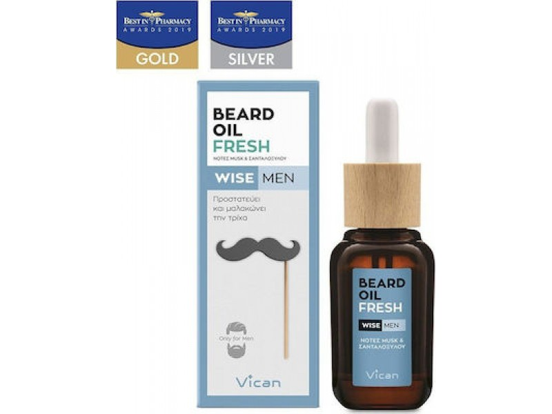 VICAN WISE MEN - BEARD OIL FRESH
