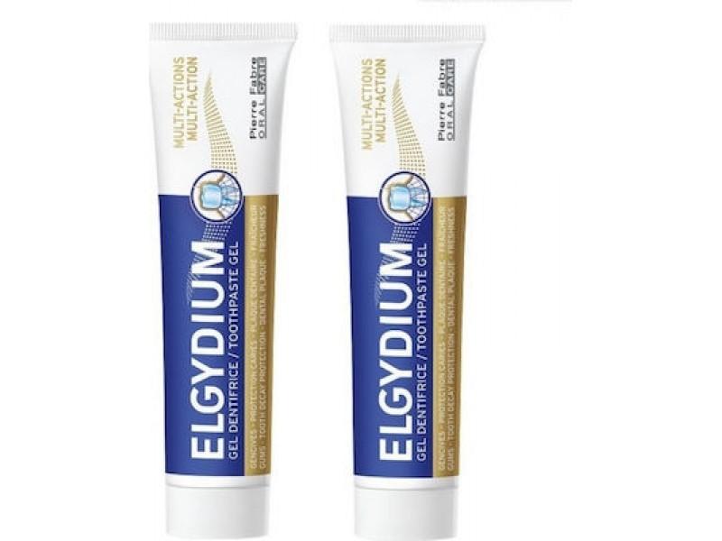 Elgydium Multi Action Ολοκληρωμένη Προστασία 2 x 75 ml