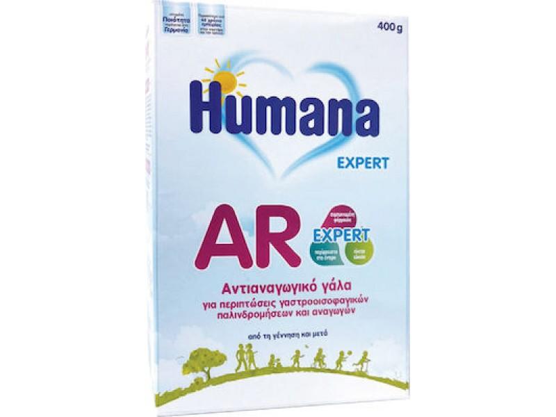 Humana Γάλα σε Σκόνη AR Expert 0m+ Χάρτινη Συσκευασία 400gr