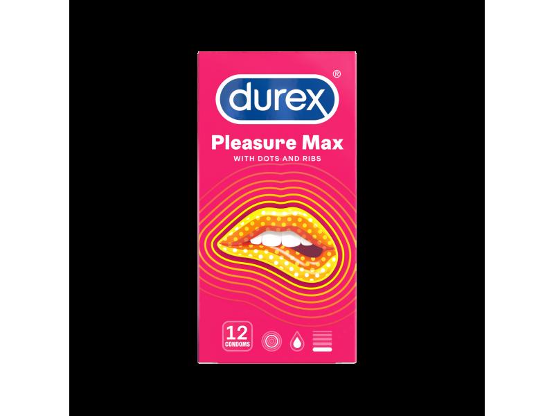Durex Pleasuremax 12τμχ