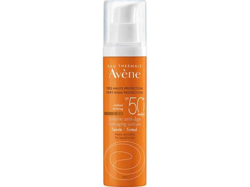 Avene Anti-Aging Suncare SPF50 50ml με Χρώμα