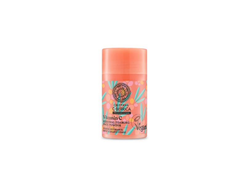 Natura Siberica Oblepikha C-Βerrica Vitamin C Renewal Foaming Face Powder 35g