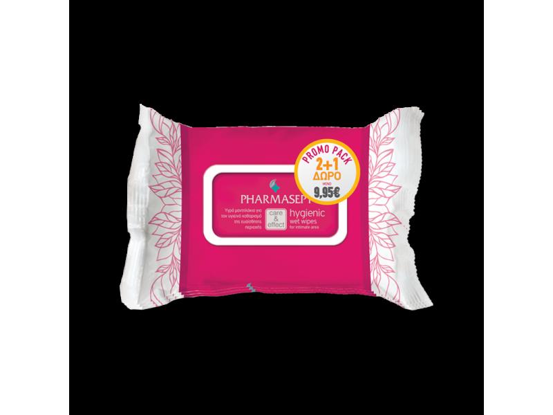 Pharmasept Hygienic Wet Wipes PROMO PACK 2+1