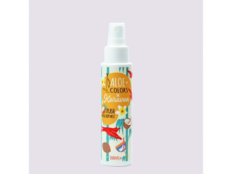 Aloe+Colors x karavan splash hair and body mist 100ml
