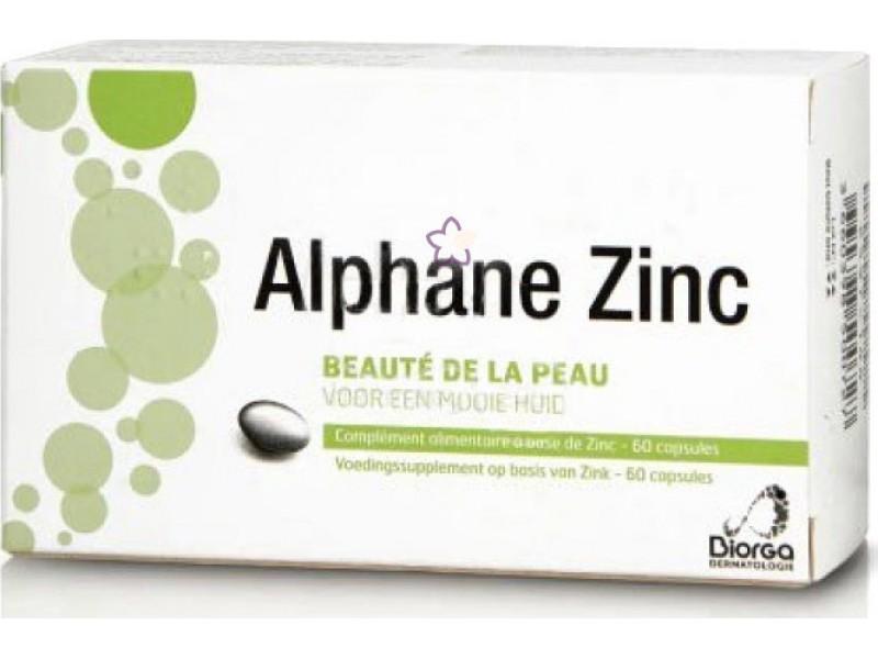 Biorga Alphane Zinc 15mg 60 κάψουλες