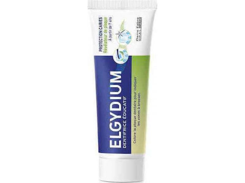 Elgydium Teaching Toothpaste Tooth Decay Protection Αποκάλυψη Πλάκας, για Παιδιά από 7 ετών 50ml