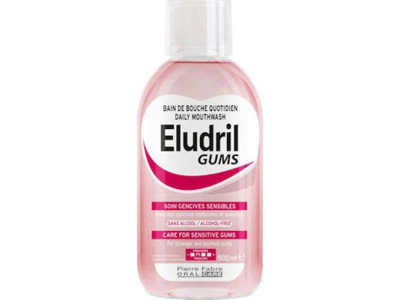 Elgydium Eludril Gums Στοματικό Διάλυμα για τα Ευαίσθητα Ούλα 500ml