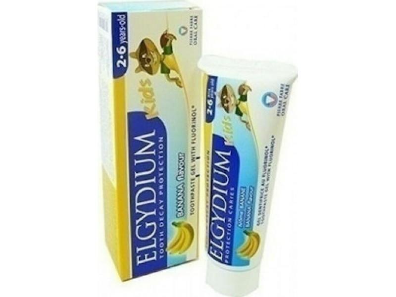 Elgydium Kids με Άρωμα Μπανάνας 50ml